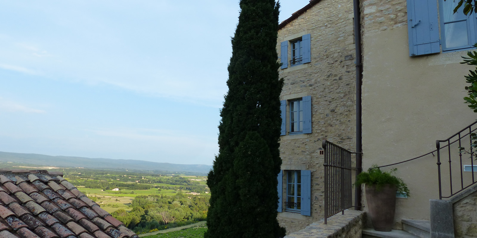 l'Amiradou Provence, the house
